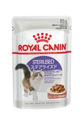 Royal Canin (Роял Канин) Sterilised в соусе (старше 1 года) (Royal Canin) в Консервы для кошек.