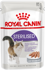 Royal Canin (Роял Канин) Sterilised в паштете (старше 1 года) (Royal Canin) в Консервы для кошек.