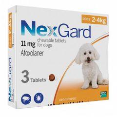 Нексгард 2-4 кг S 1 таб (Merial) в Таблетки от блох и клещей.