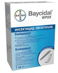 БАЙЦИДАЛ 25 WP (Bayer) в Средства для дезинсекции и дератизации.