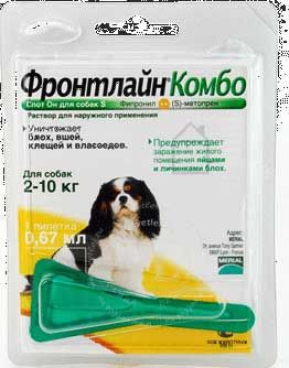 Фронтлайн комбо для собак 40-60 кг xl купить в украине цена.
